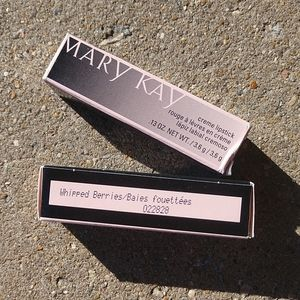 2 Mary Kay Whipped Berries Lipstick